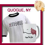 Quogue T-shirts, tees, totes