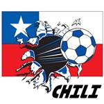 Chili Soccer T-shirts, Posters, Swag, Gear