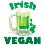 Irish Vegan T Shirts and Gifts