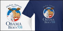 Alaskan Animals for Obama
