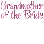 Cool Country Grandmother of the Bride Pink T-Shirt