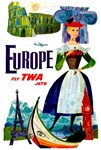 TWA Fly to Europe