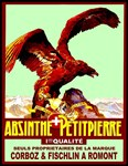 Absinthe Petit Pierre Advertising Print