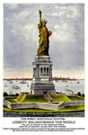 Statue of Liberty Vintage Print