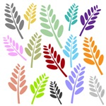 OYOOS Leaf colors design