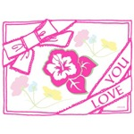 OYOOS Love You Pink Bow design