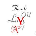 OYOOS Thank You design