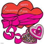 OYOOS Valentine Heart Chocolates design