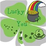 OYOOS Lucky You Irish design