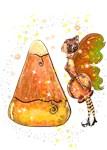 Kindy The Candy Corn Fairy