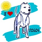 DOGO Argentino a few different designs