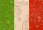 Vintage Italian Flag
