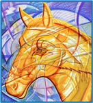 Golden-Horse Spirit
