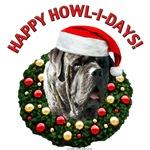 Happy Howl-i-days! (Brindle)