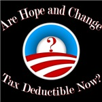 Are Hope and Change Tax Deductable?