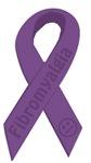 Fibromyalgia Awareness Ribbon