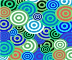 Retro Circles Colorful