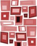 Mauve and Plum Squares, Rectangles