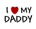 FATHER'S DAY GIFT I LOVE MY DADDY SHIRT T-SHIRT BA