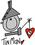 The TinMan showing off his Heart is a great shirt or wizard of oz gift.