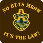No Buts Meow It's the Law T shirt