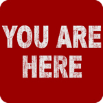 You Are Here (Distressed)