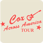 Vintage Cox Across America Tour T-shirt