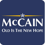 McCain Old Is The New Hope T-Shirt