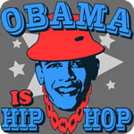 Obama is Hip Hop T-Shirt