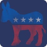 Vintage Democratic Donkey T-Shirt