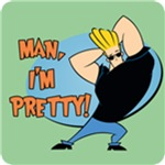 Johnny Bravo Man I'm Pretty T-Shirt