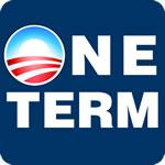 Obama One Term T Shirt