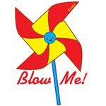 Blow me! Pinwheel