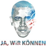 Barack Obama german Yes we can