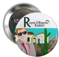 Royce O'Rourke Buttons and Magnets