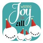 Wishing Joy For All Snowman