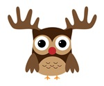 Rudolph the Red Nose Owl