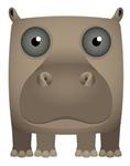 Hippo Modern Icon