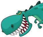 Sneaky Dinosaur
