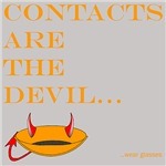 contacts are the devil