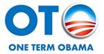 One Term Obama