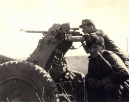German Sniper at Work