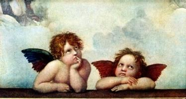 Putti of the Sistene Madonna