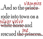 Twilight-The Vampire rode into town in a silver vo