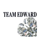 Team Edward Heart Charm
