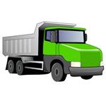 Green Dump Truck