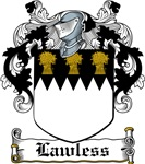 Lawless Coat of Arms, Family Crest