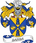 Barba Coat of Arms, Family Crest