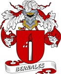 Bernales Coat of Arms, Family Crest