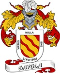 Gayola Coat of Arms, Family Crest